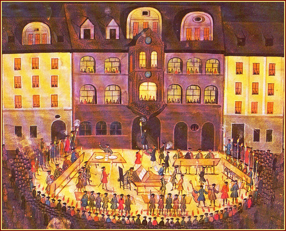 Evening Concert by the Jena Collegium Musicum, 1744
