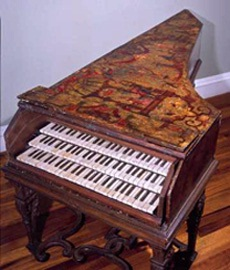 3-Manual harpsichord, Bolcioni, 1627